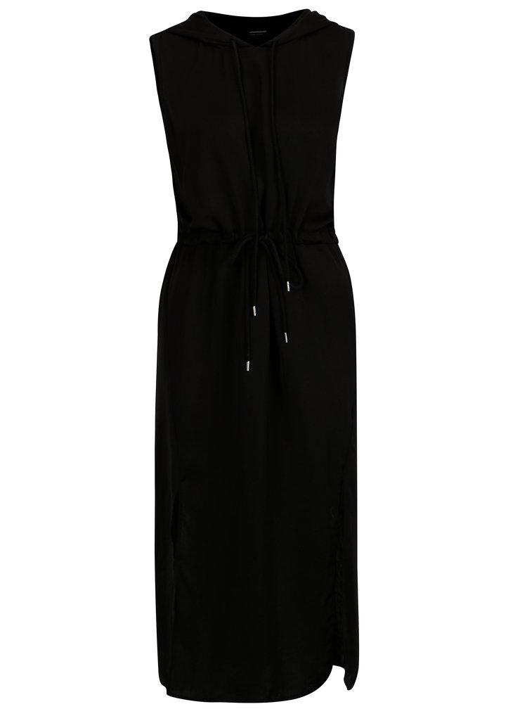Černé šaty s kapucí Noisy May