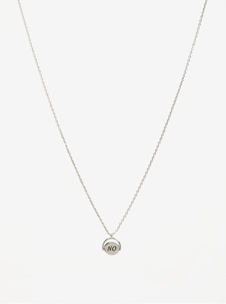Sada dvou náhrdelníků ve stříbrné barvě Pieces Johanna