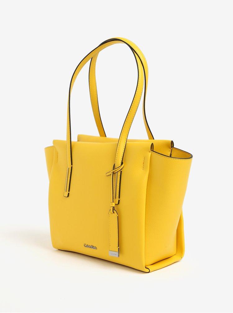 Žlutá kabelka Calvin Klein Jeans