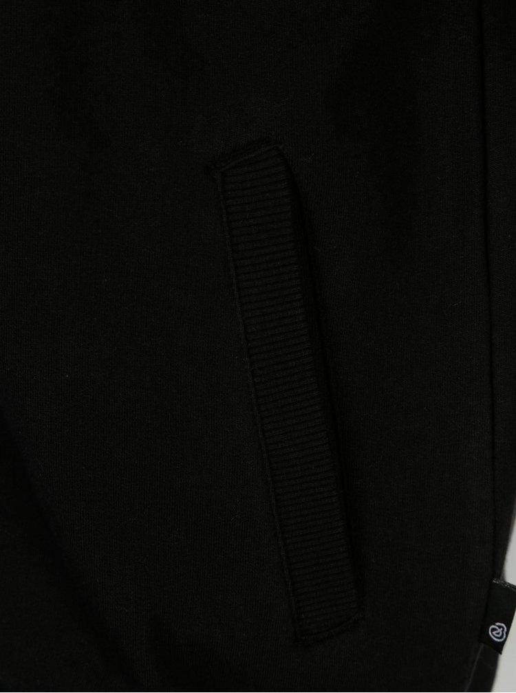 Jacheta neagra bomber cu fermoar Burton Menswear London