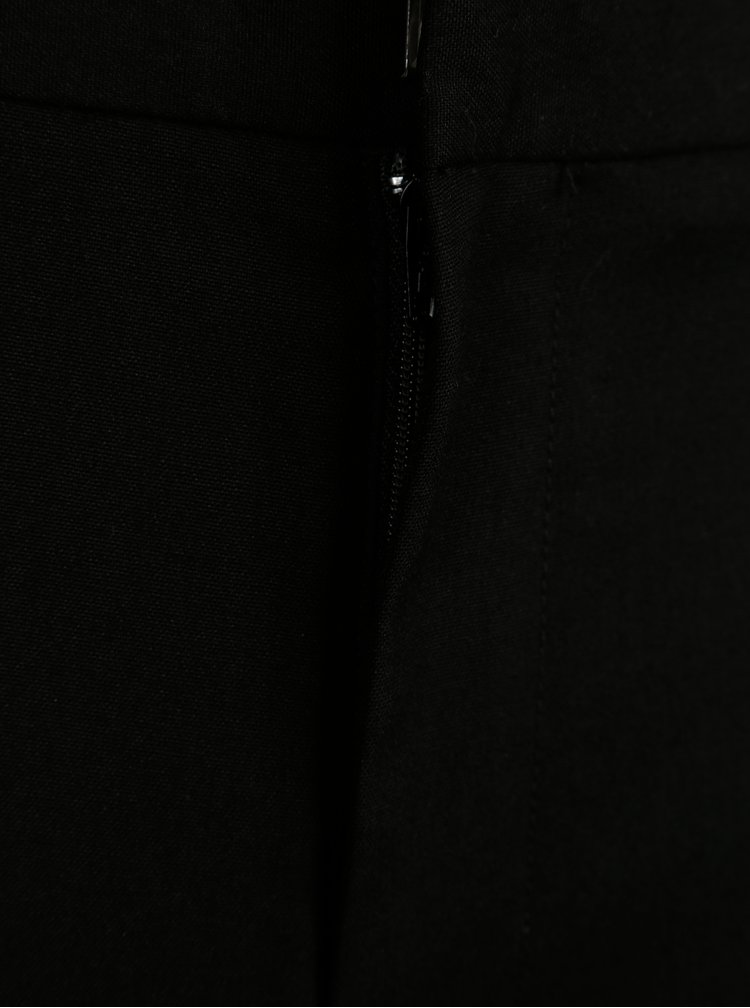 Černé slim kalhoty Burton Menswear London