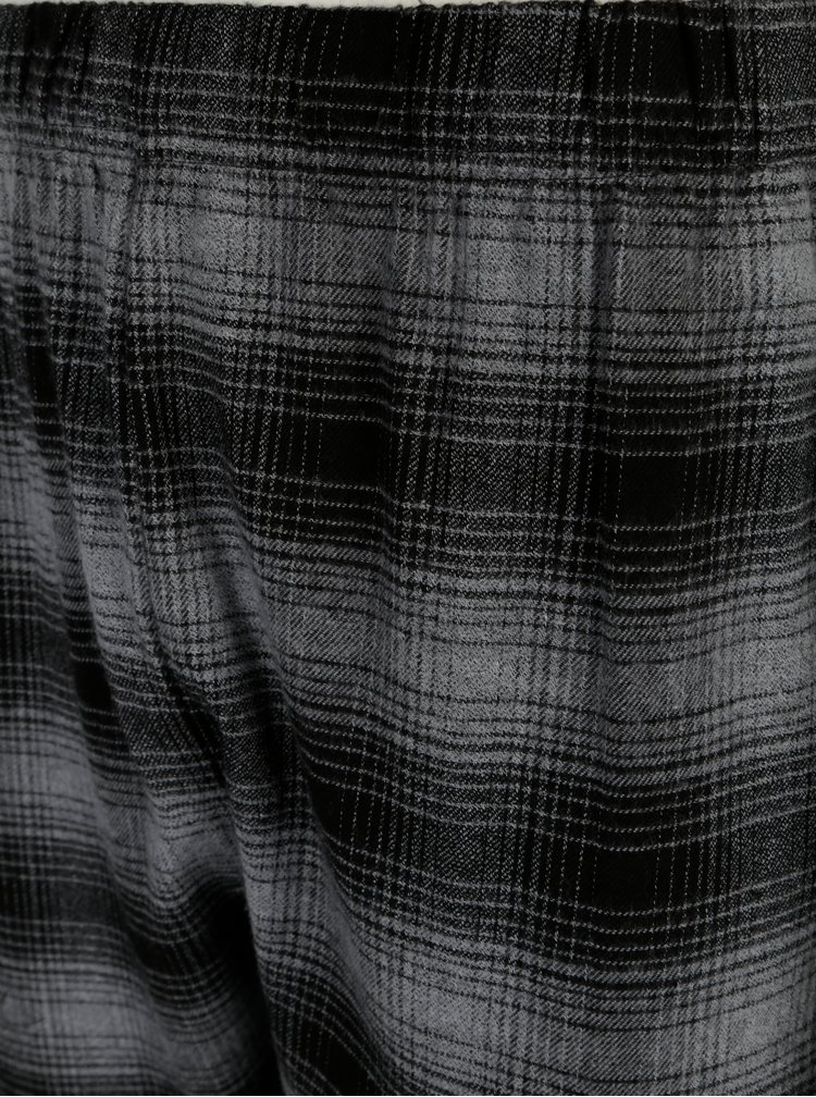 Šedé dvoudílné vzorované pyžamo Burton Menswear London