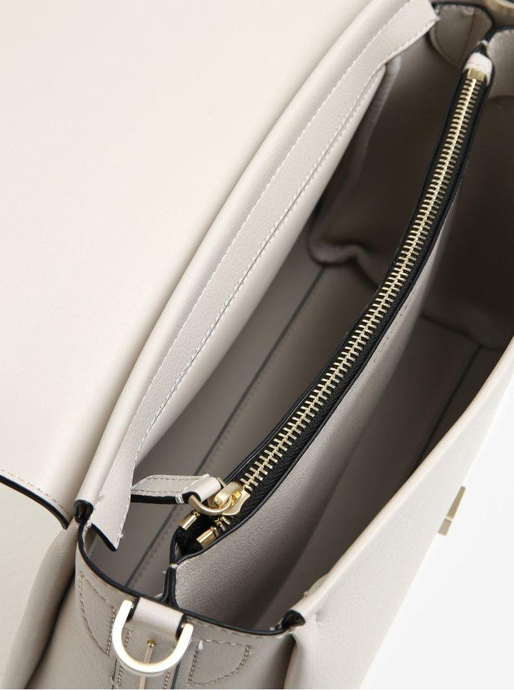 Světle šedá crossbody kabelka Calvin Klein Jeans