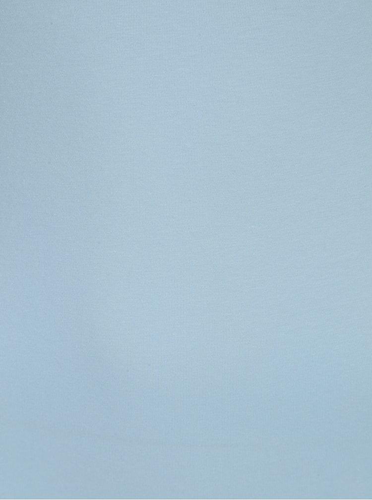 Světle modré dlouhé tílko VERO MODA Maxi