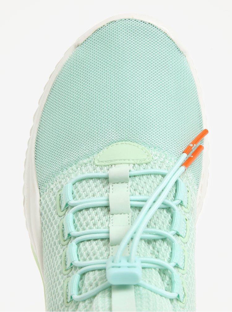 Světle zelené tenisky Tamaris