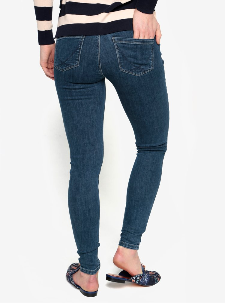 Tmavě modré skinny džíny Oasis New Mid