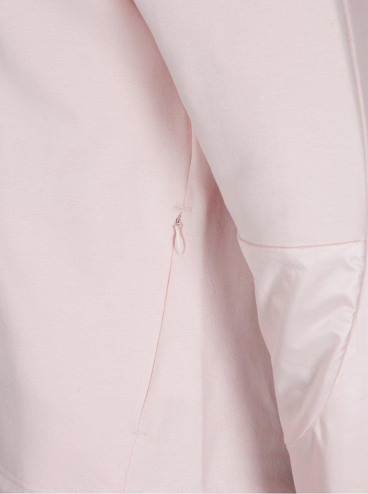 Světle růžová dámská regular fit mikina Puma