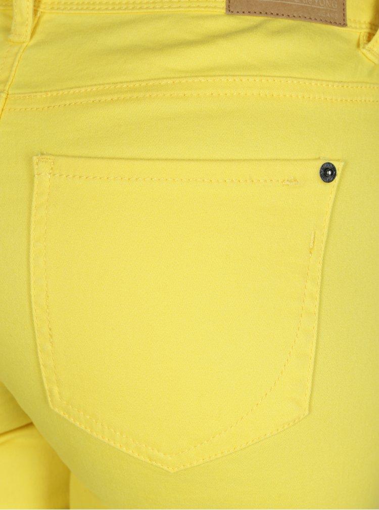 Žluté skinny džíny Jacqueline de Yong New Five