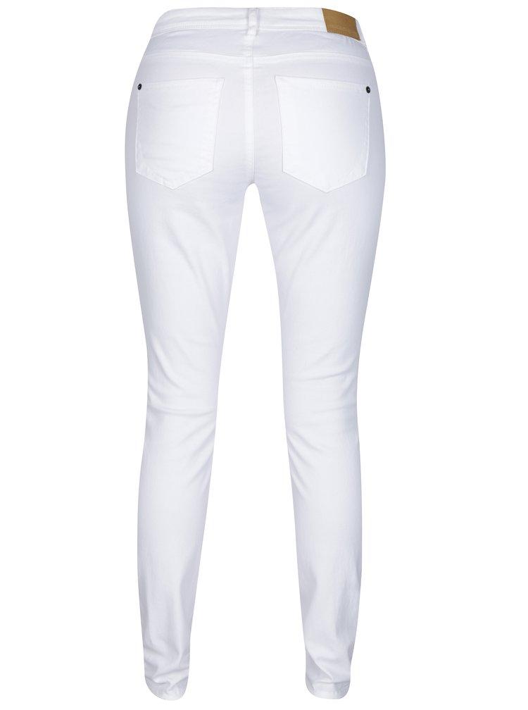 Bílé skinny džíny Jacqueline de Yong New Five
