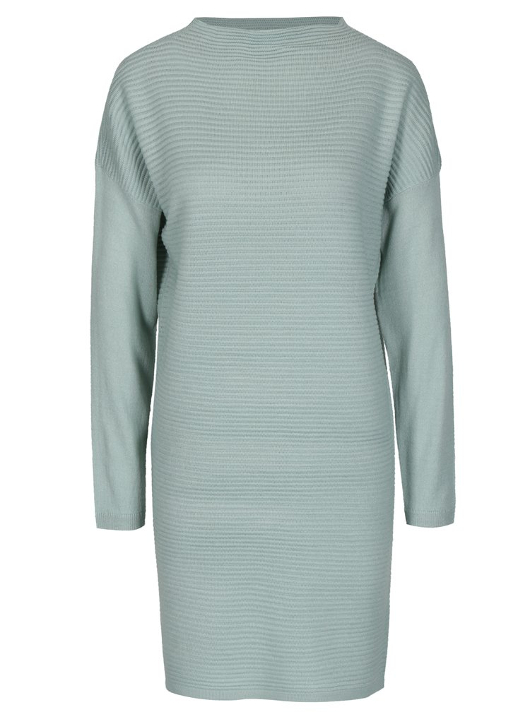 Mentolové svetrové šaty Jacqueline de Yong Tint