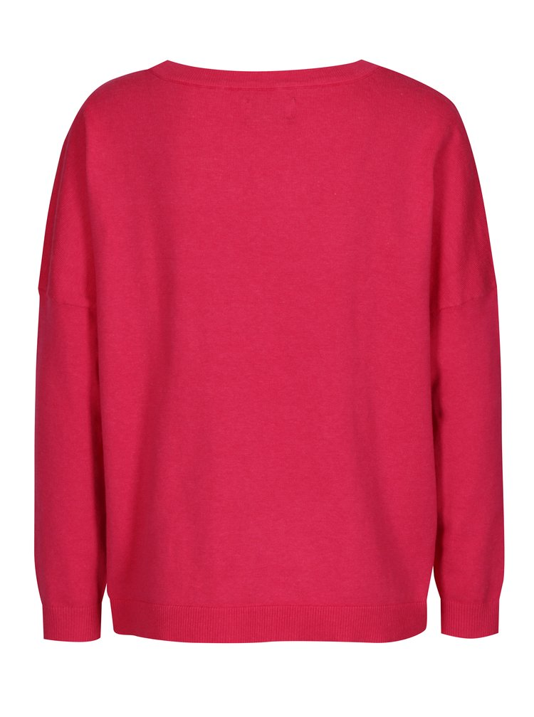 Růžový svetr s magickými flitry ONLY Rosetta