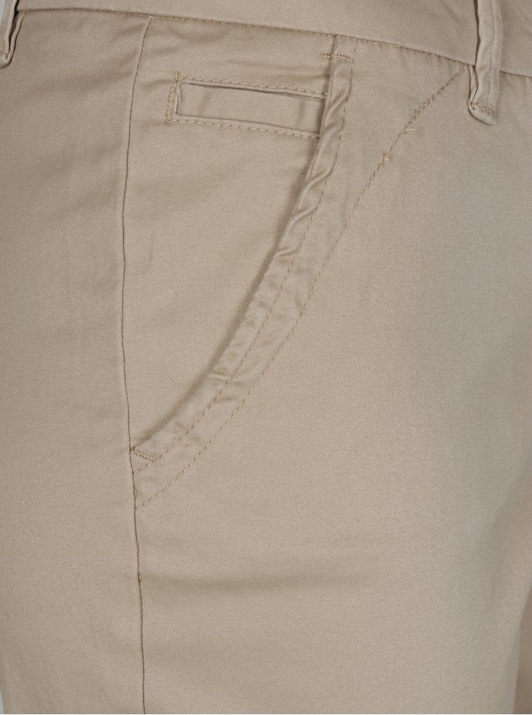 Světle hnědé chino kalhoty ONLY Hailey