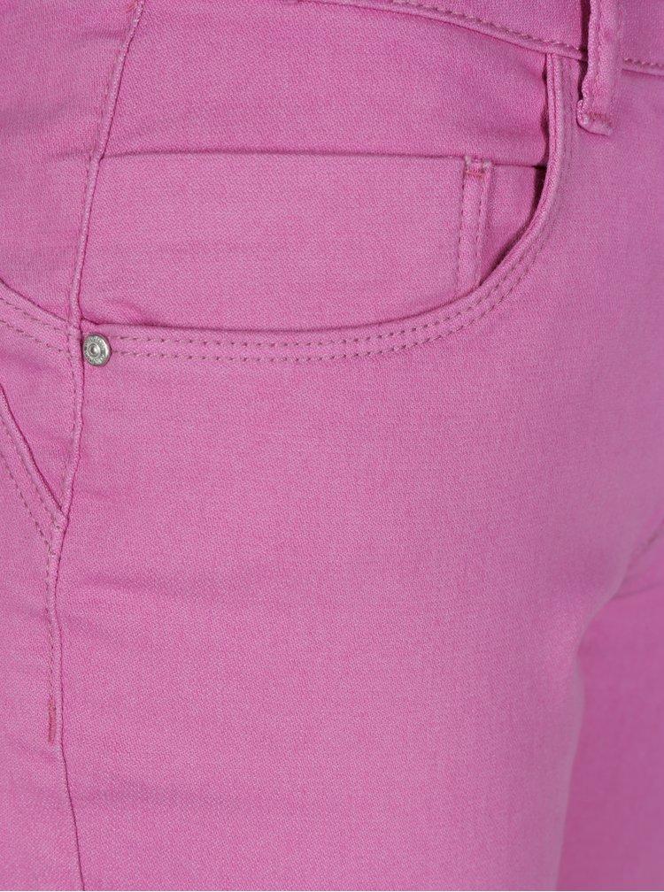 Růžové push up džíny ONLY Dylan