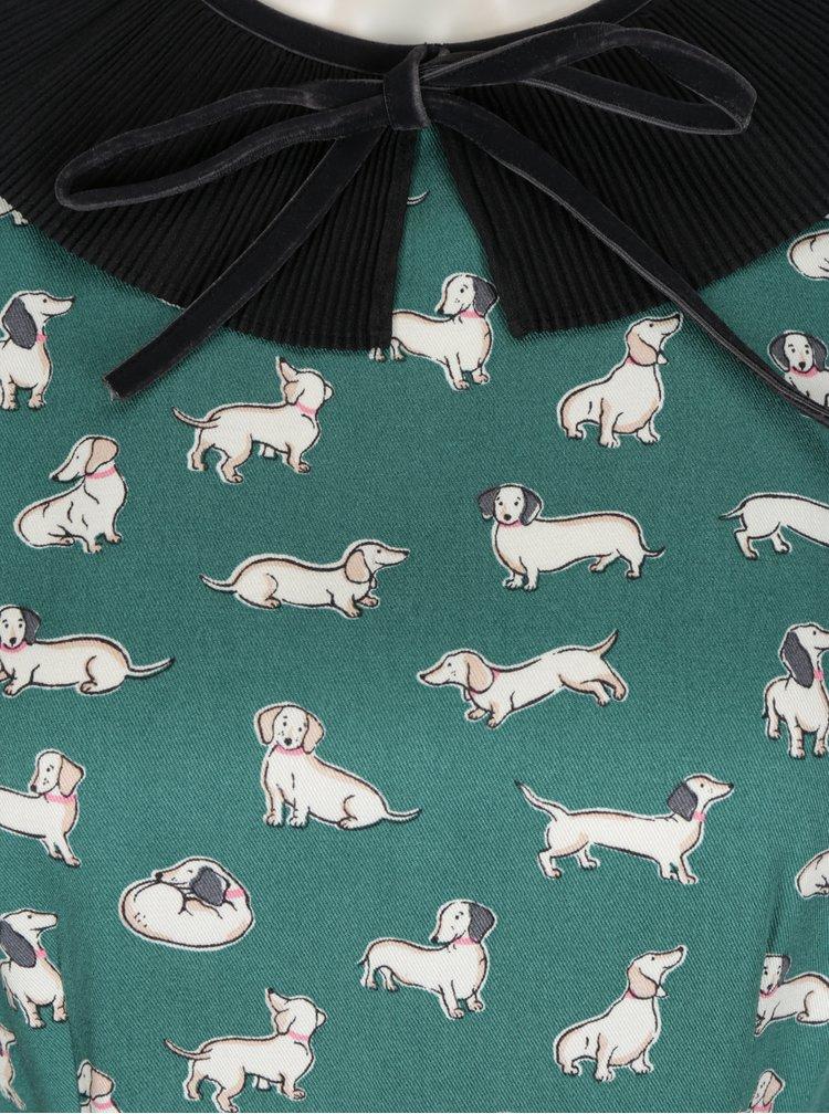 Zelené vzorované šaty Cath Kidston