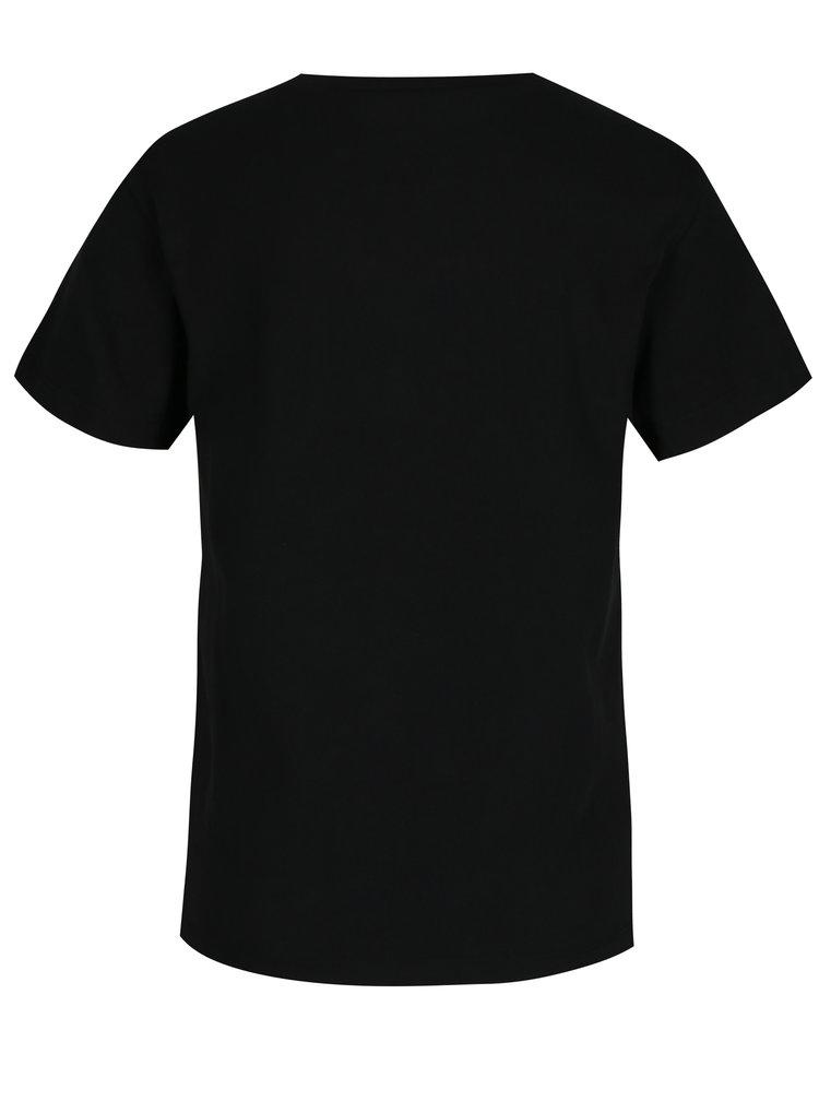 Černé dámské tričko s potiskem VANS Flying