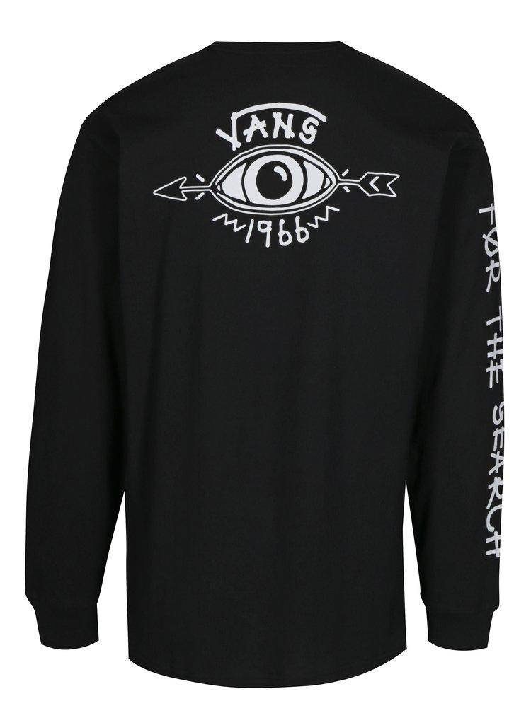 Černé pánské tričko s potiskem VANS Dakota