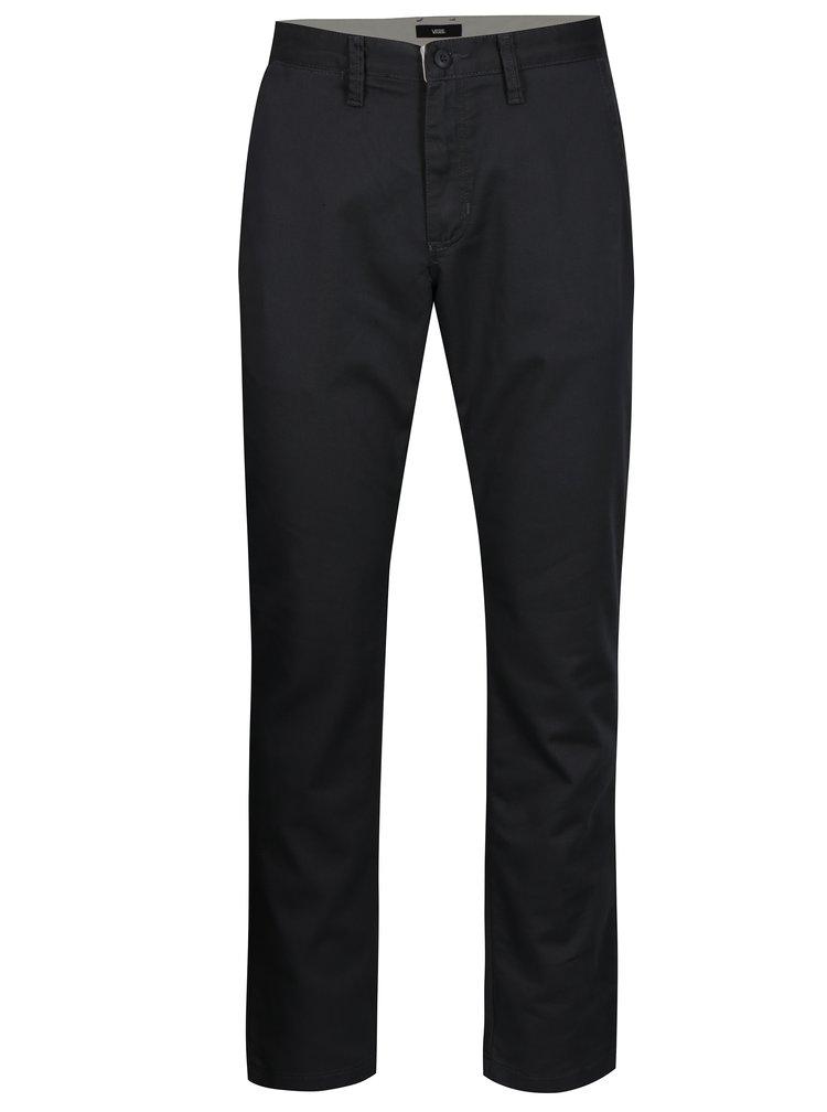 Tmavě šedé chino kalhoty VANS Authentic