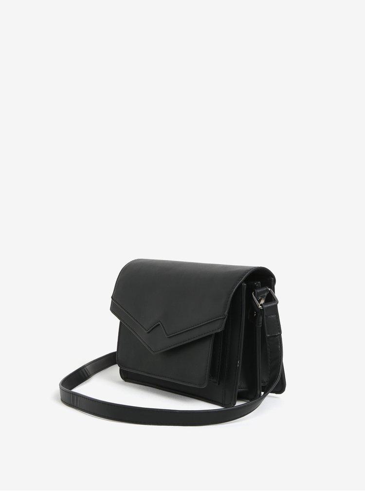 Černá crossbody kabelka Pieces Jennifer
