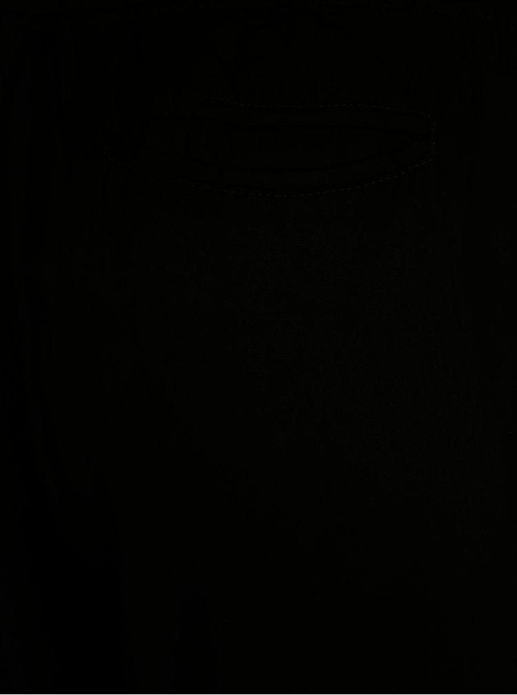 Černé tepláky s potiskem Desigual Dina