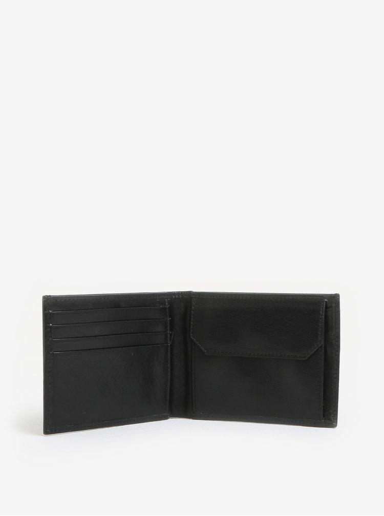 Černá pánská kožená peněženka Royal RepubliQ Alliance