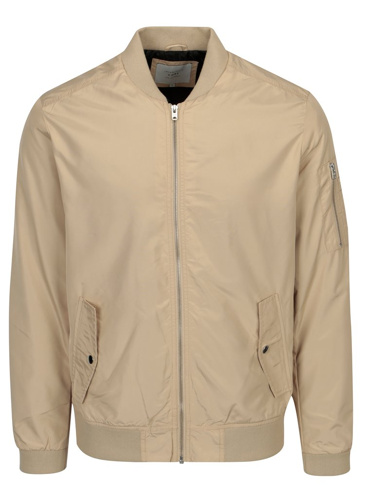 Béžový bomber Jack & Jones Grand