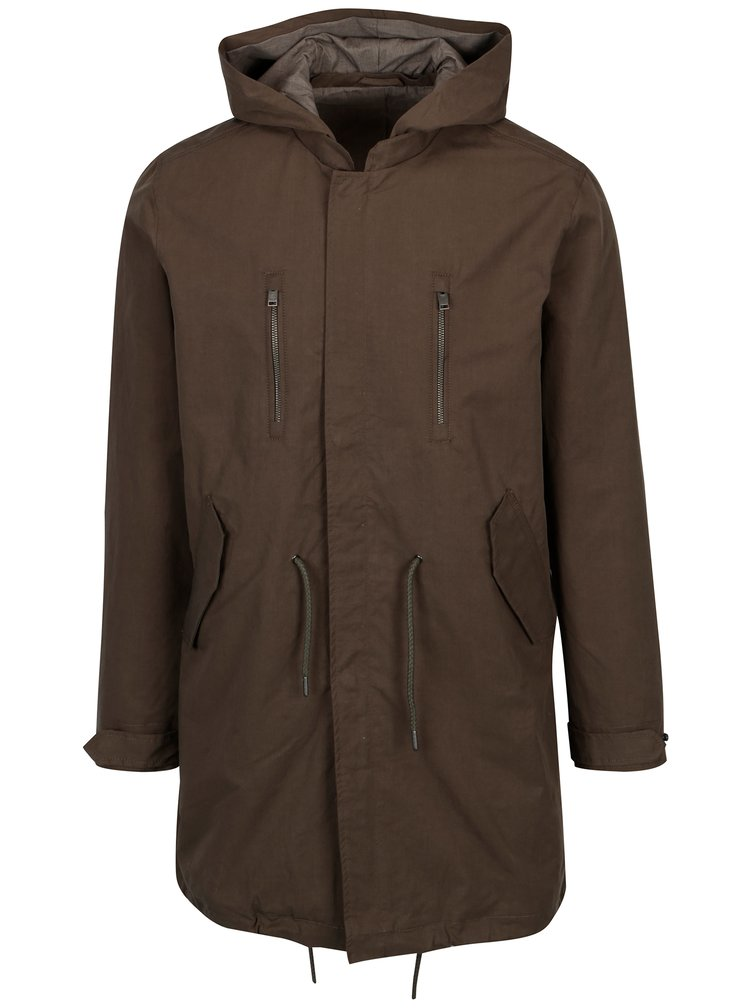 Khaki parka Selected Homme James