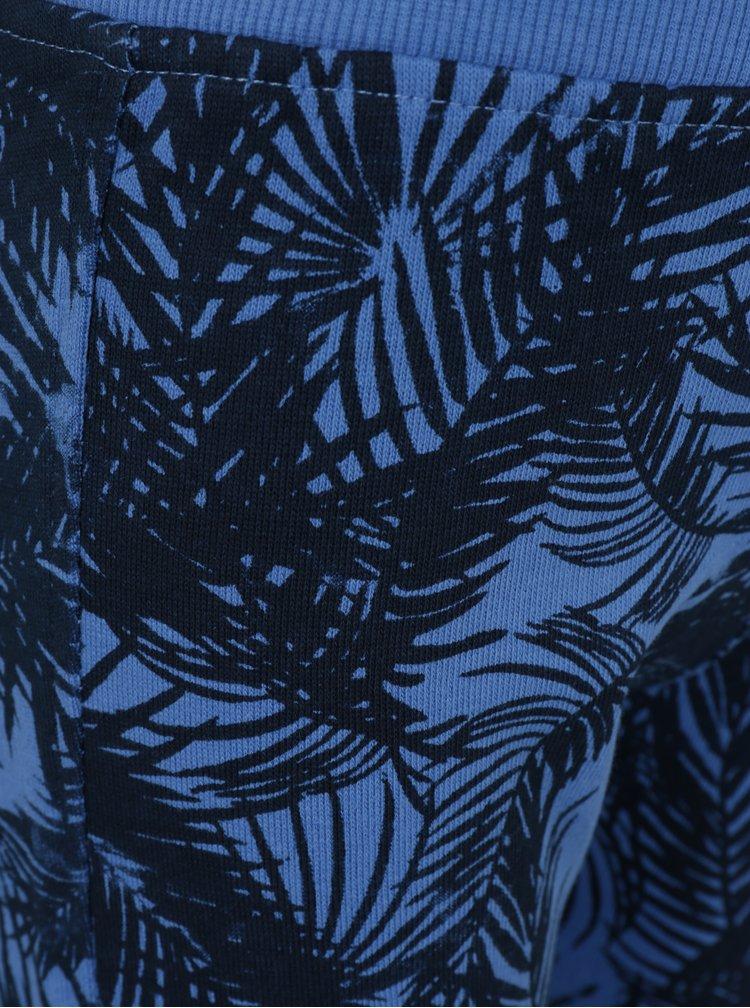Modré klučičí vzorované kraťasy Blue Seven