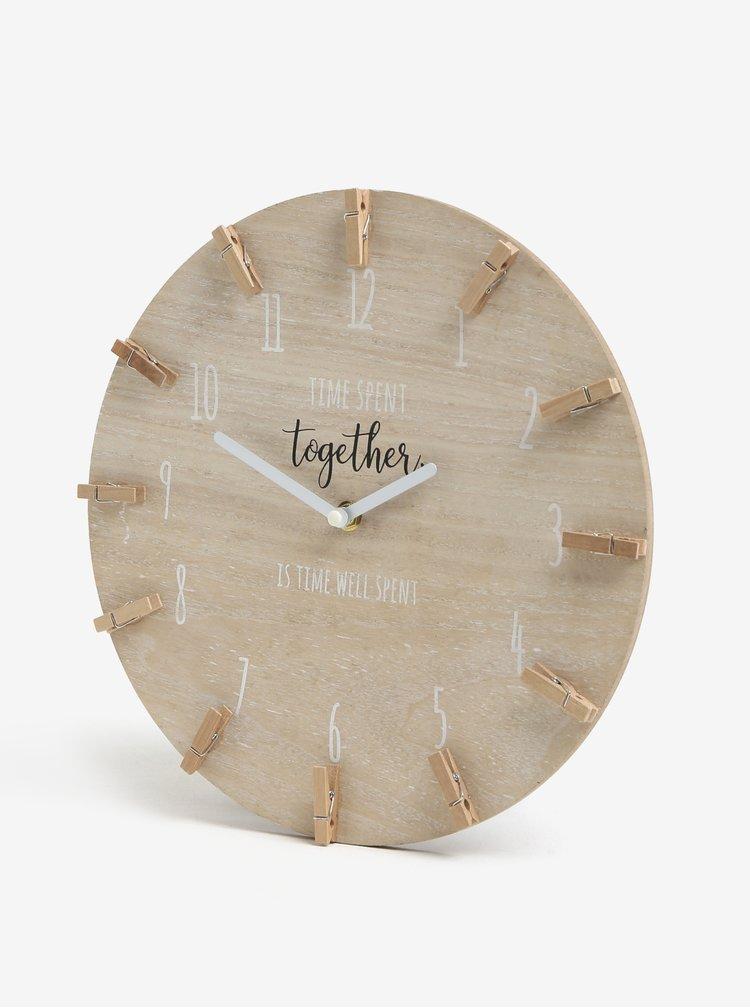 Ceas maro din lemn - SIFCON
