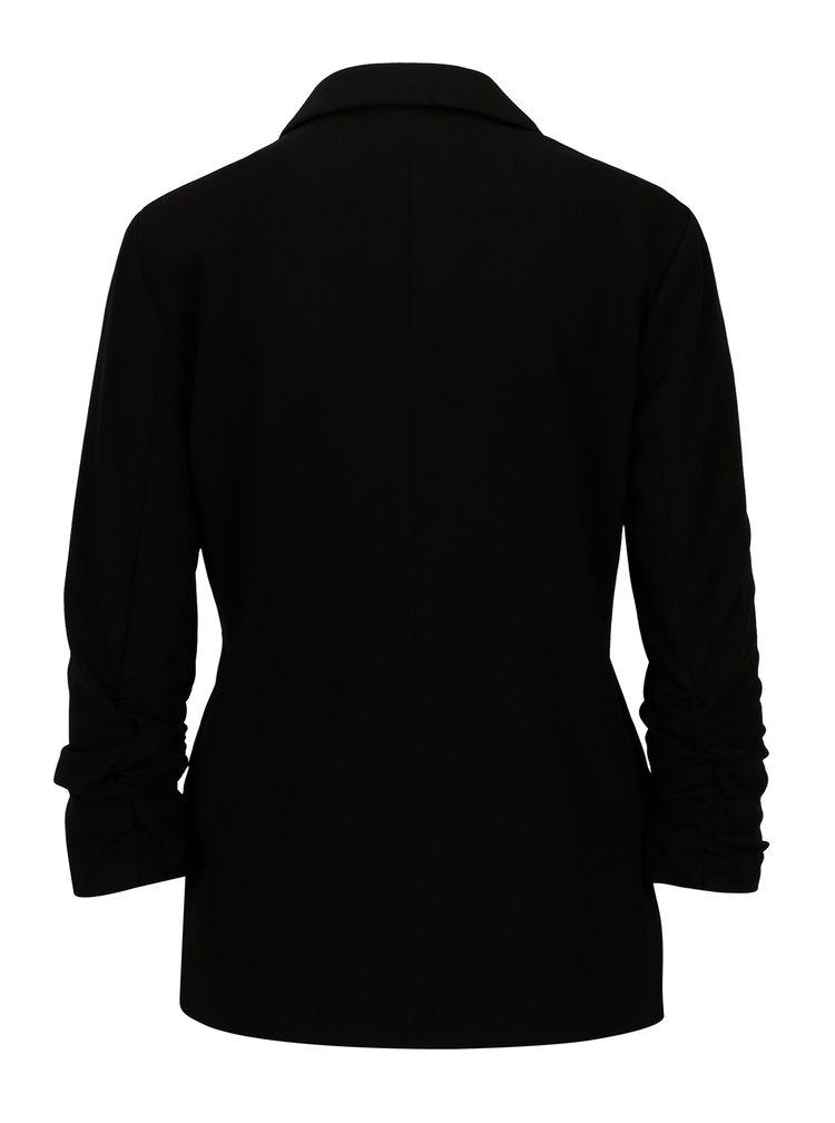 Černé sako s 3/4 rukávem ONLY Diana