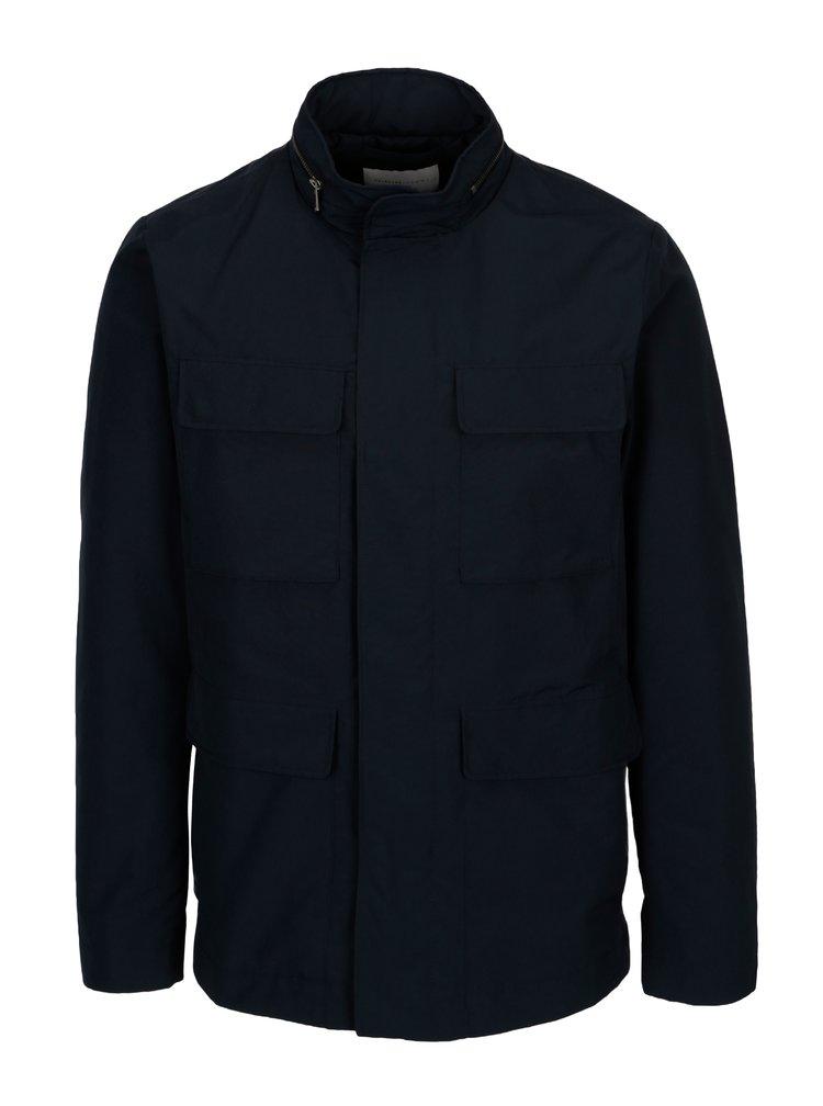 Tmavě modrá bunda s kapsami Selected Homme Male