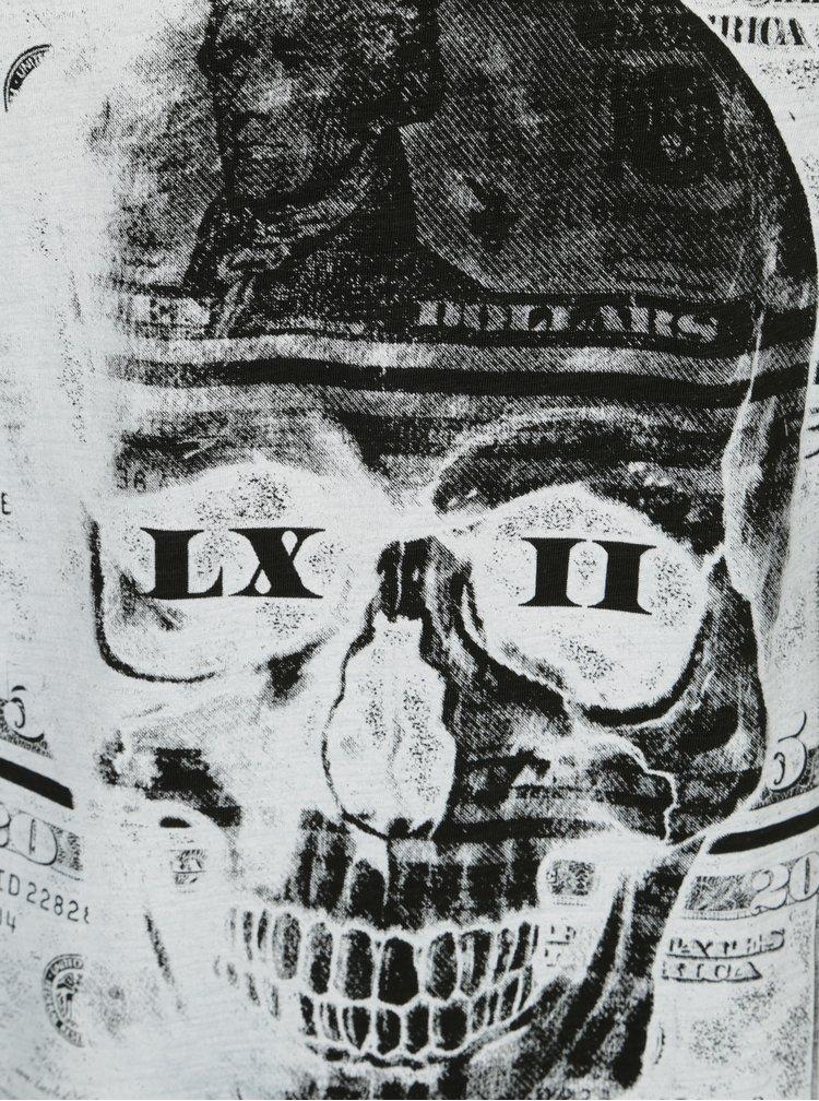 Tmavozelené tričko s potlačou Shine Original Rebel