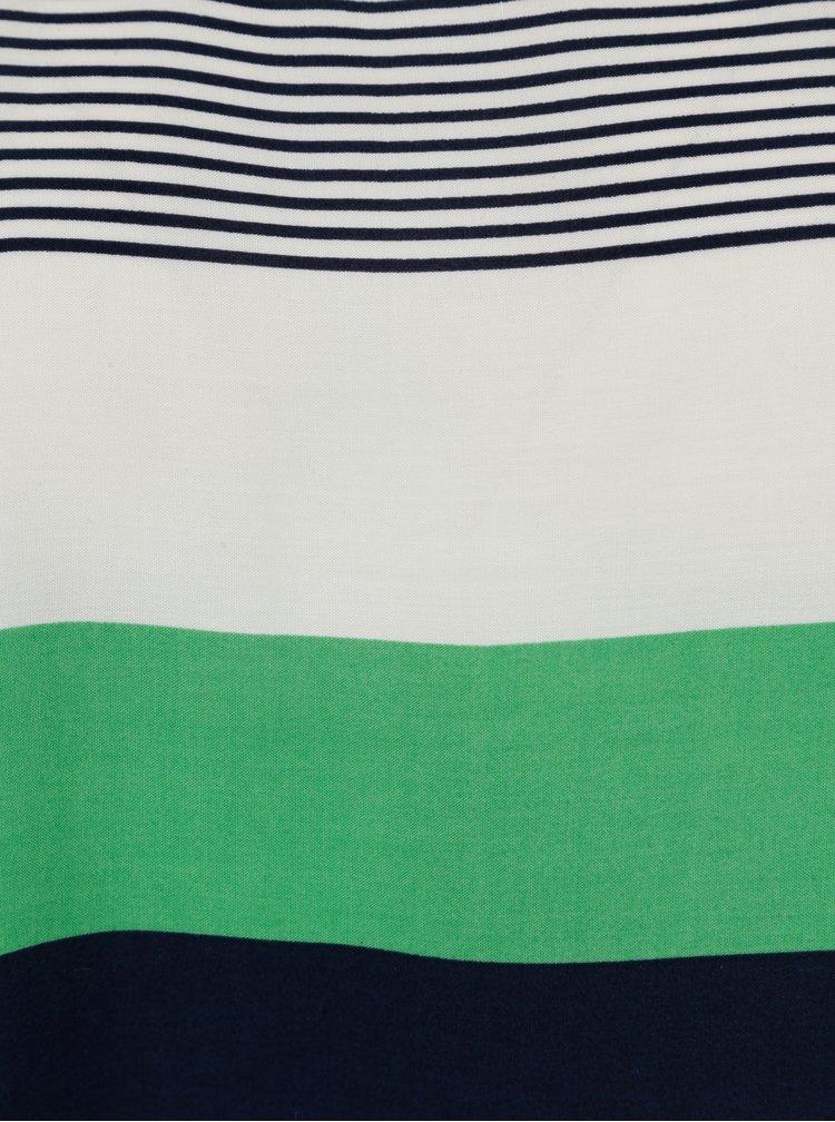 Zelená dámská vzorovaná oversize halenka Broadway Deepti
