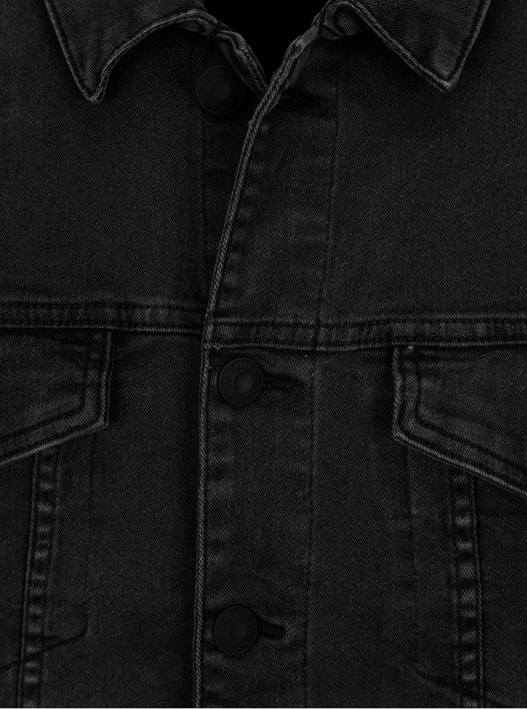 Tmavě šedá džínová bunda ONLY & SONS Coin