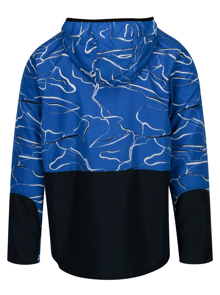 Modro-bílá vzorovaná bunda ONLY & SONS Garman
