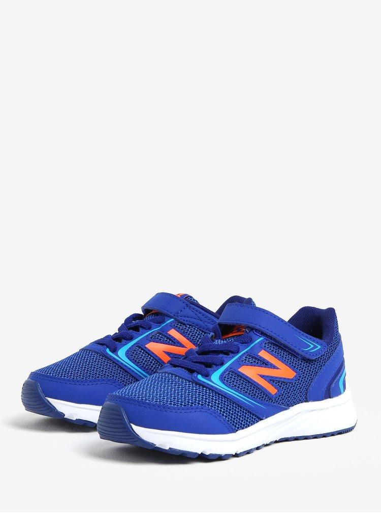 Modré dětské tenisky New Balance