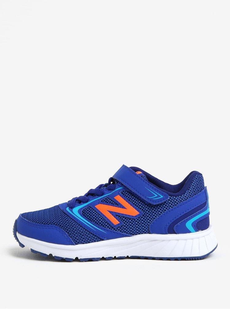 Modré detské tenisky New Balance