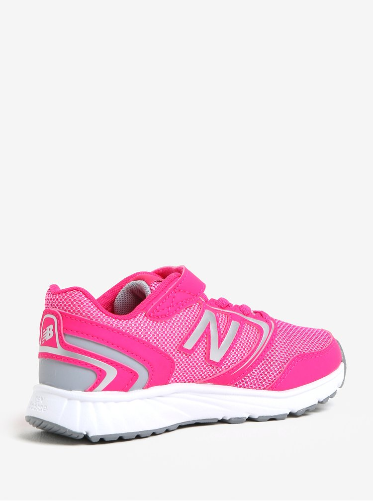 Ružové dievčenské tenisky New Balance