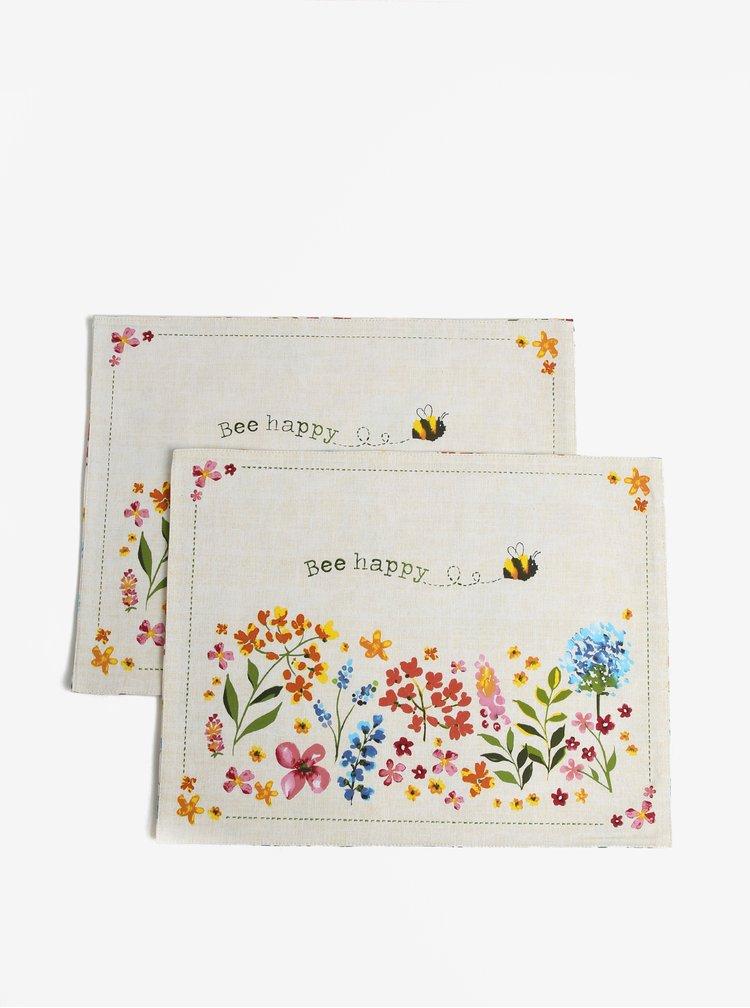 Set de 2 servete pentru masa cu print floral - Cooksmart