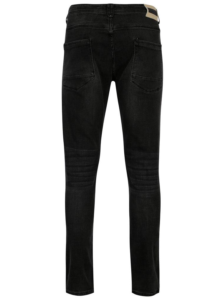 Tmavě šedé pánské džíny Broadway Ryan