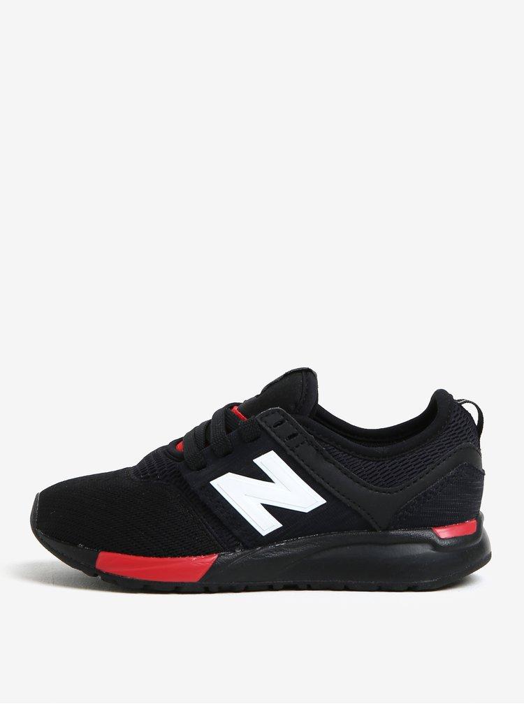 Černé dětské tenisky New Balance