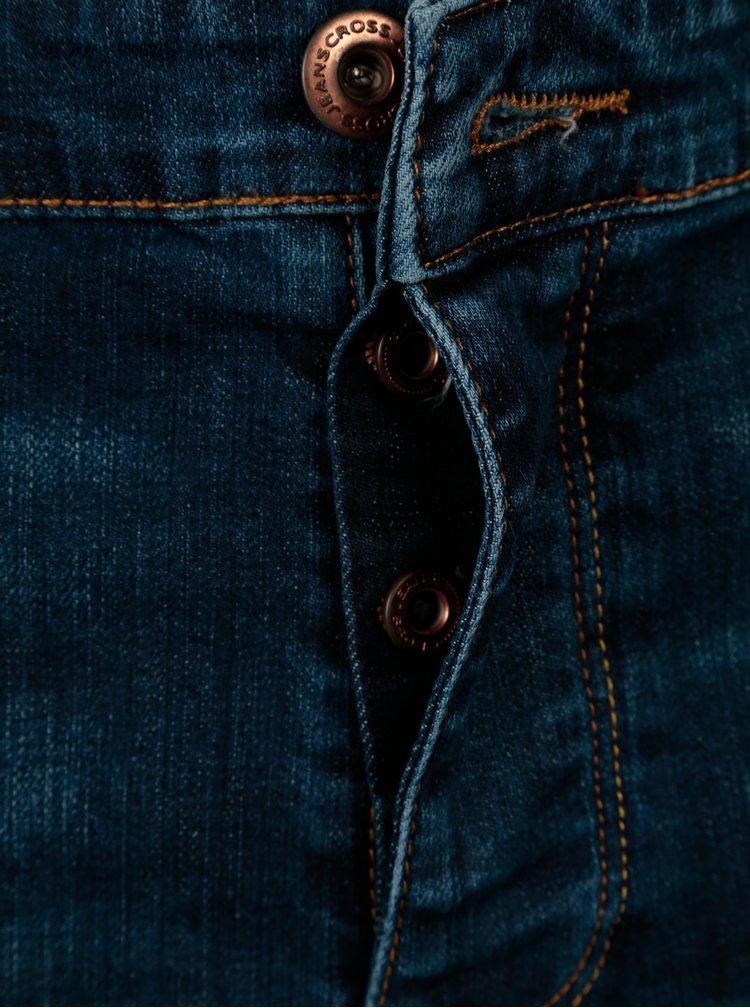 Blugi bleumarin straight fit pentru barbati - Cross Jeans Dylan