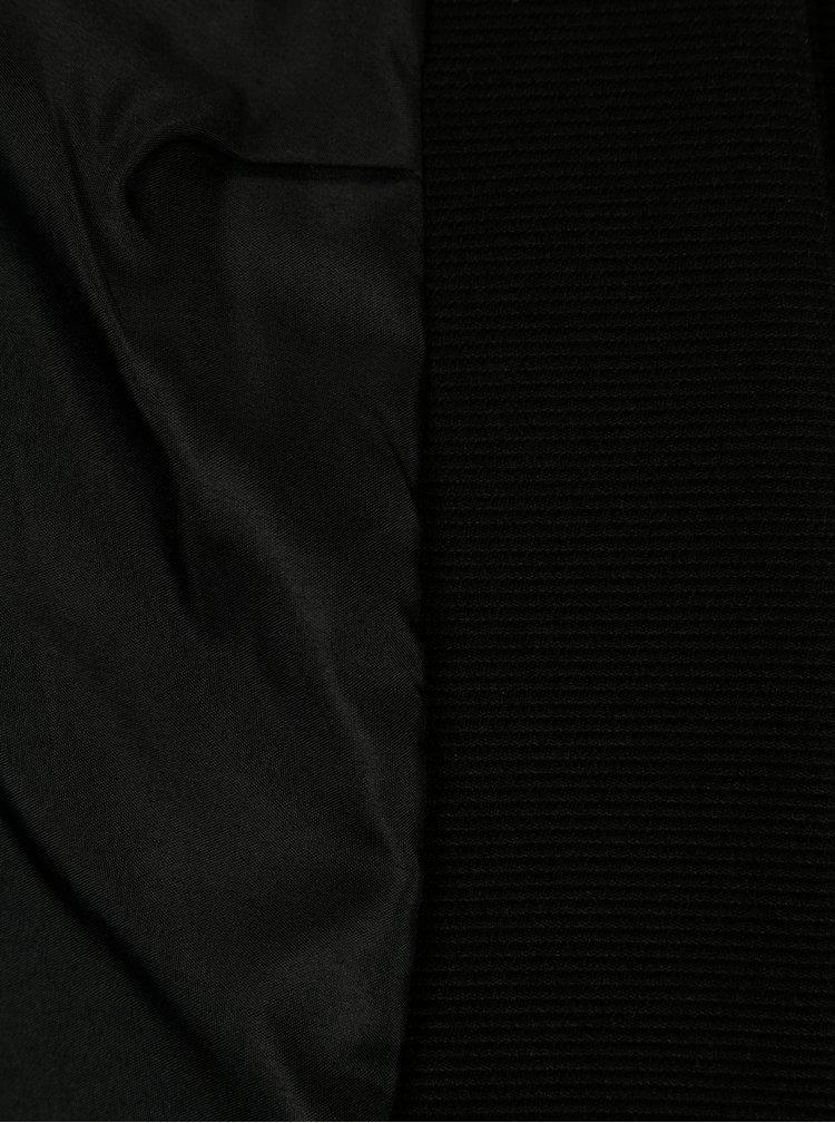 Sacou negru fara inchidere ONLY Anna