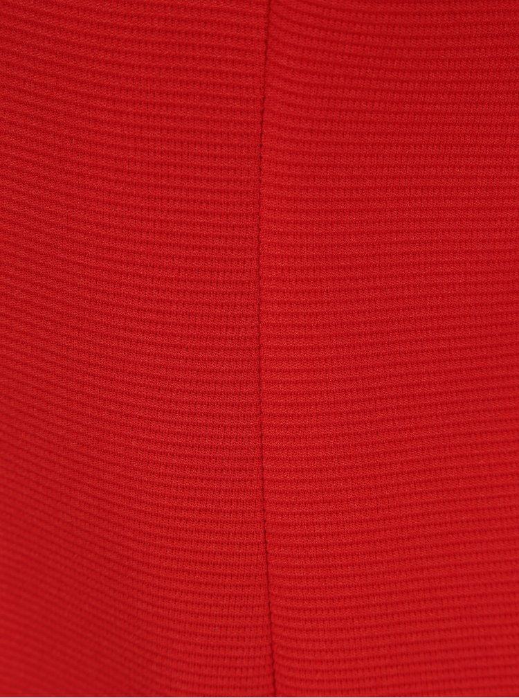 Červené žebrované sako ONLY Anna