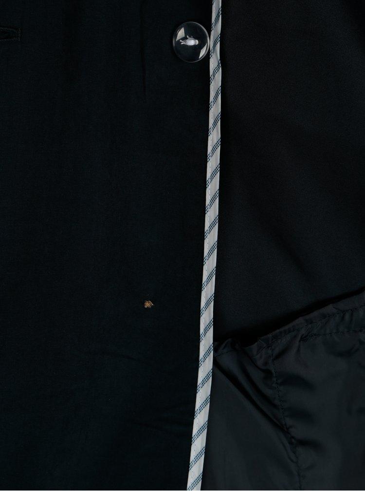 Tmavě modrý lehký trenčkot VERO MODA Dina
