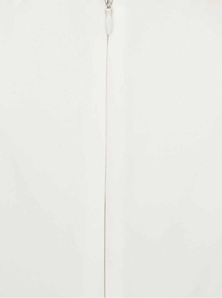 Krémové maxi šaty bez rukávu Showcase by Dorothy Perkins