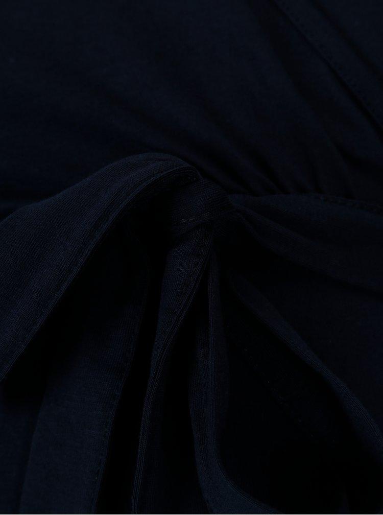 Tmavě modré těhotenské šaty s 3/4 rukávem Dorothy Perkins Maternity