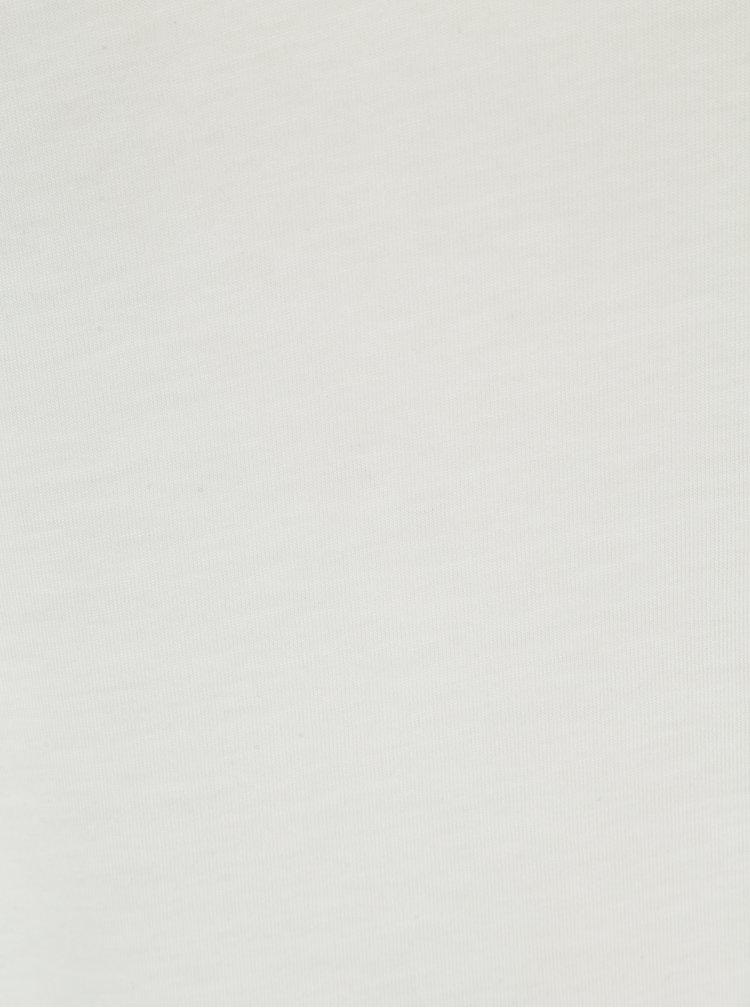 Krémová halenka s dlouhým rukávem Dorothy Perkins Curve