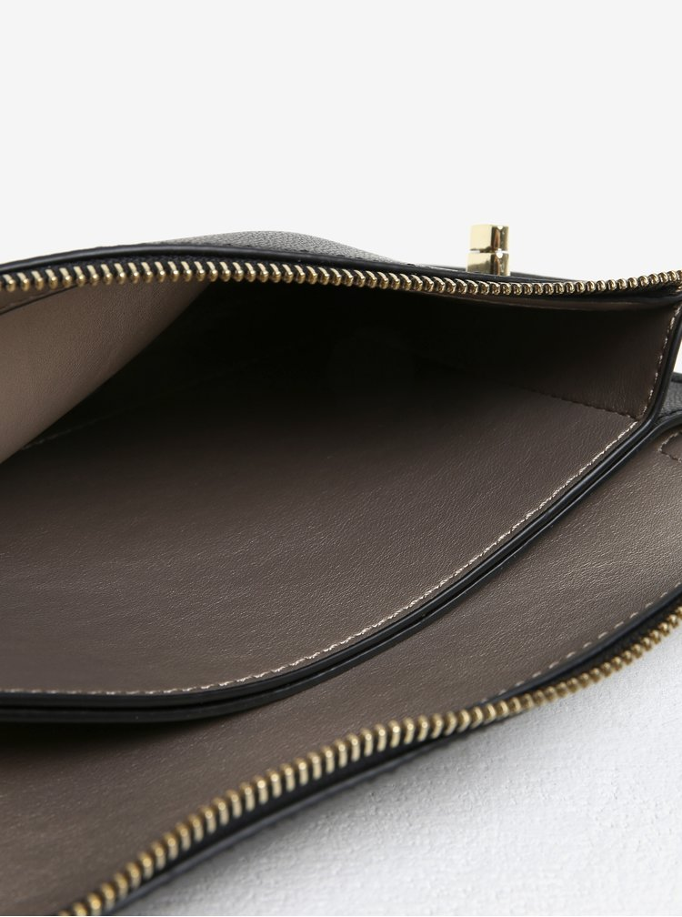 Geanta plic neagra cu bareta detasabila - Gionni Beryl