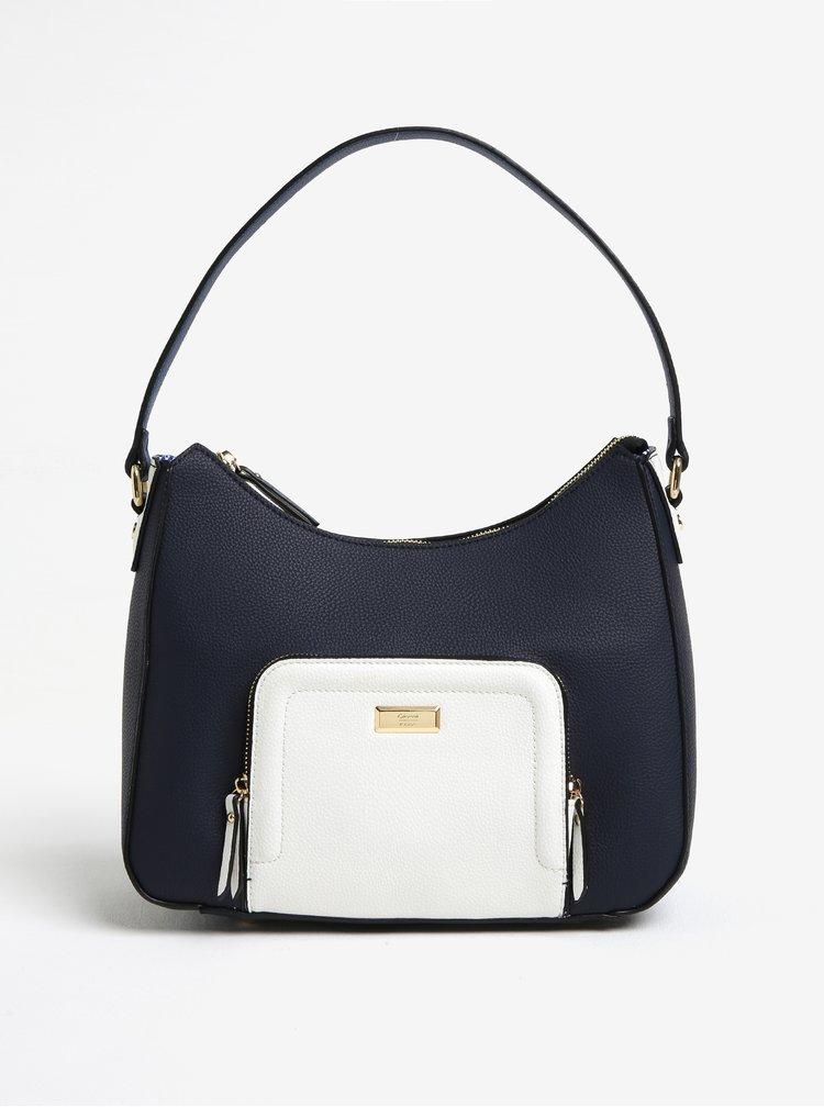 Modrá koženková kabelka Gionni Tasha