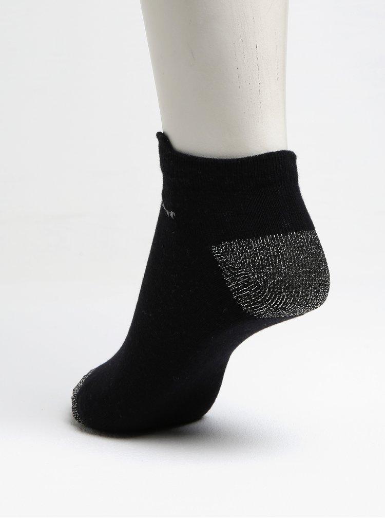 Sada tří párů holčičích ponožek v černé, růžové a bílé barvě 5.10.15.